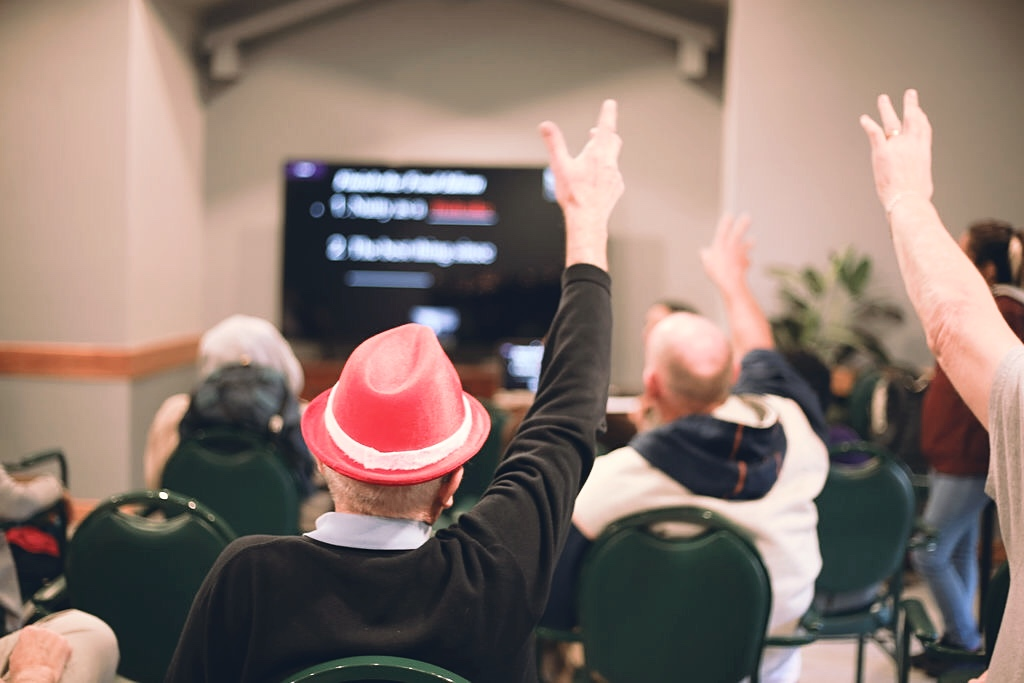 online activities for seniors, programming for senior communities