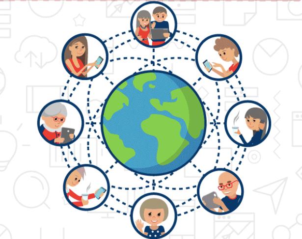 How senior citizens using technology, image from seniors.com/au